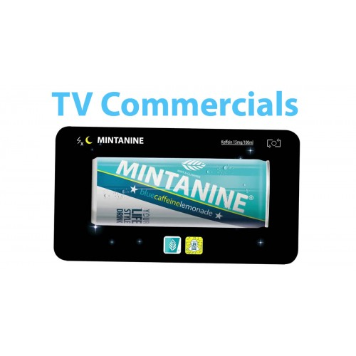 MINTANINE meets TV-COMMERCIALS